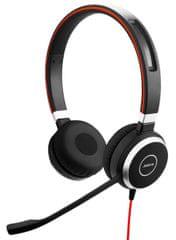 Jabra Evolve 40, stereo, USB - Perfektní hodnocení