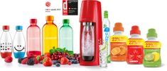 SodaStream SPIRIT RED Family Pack