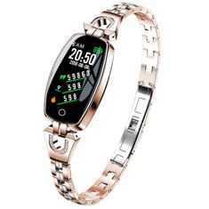 Náramek Smartomat Chicband - zlatá, dámské chytré hodinky (smartwatch)