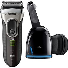 BRAUN holící strojek Series 3 3090 Clean&Charge