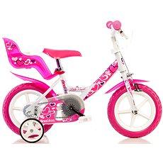 Kolo Dino Bikes 12 pink