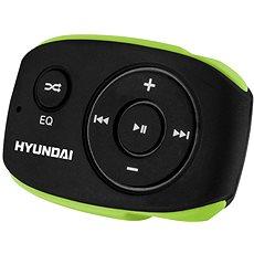 Nejspolehlivější v kategorii - Přehrávač Hyundai MP 312 4GB černo-zelený