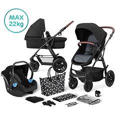 Kinderkraft 3v1 XMOOV 2020 Black Nejprodávanější