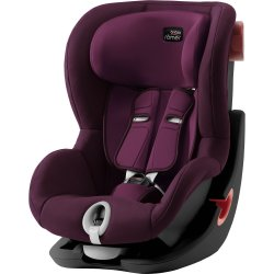 Britax Römer King II Black Edition 2019 Burgundy Red