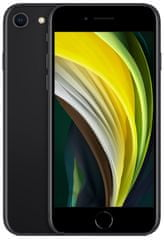 Mobilní telefon Apple iPhone SE 2020, 128GB, Black