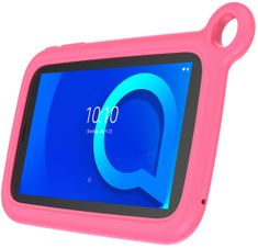 Alcatel 1T 7 2019 Kids, 1GB/16GB, Wi-Fi, Pink Bumper Case