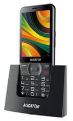 Aligator A900 GPS Senior, černý