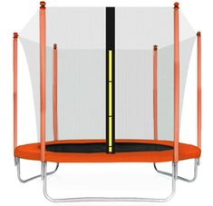 Aga Sport Fit Trampolína 180 cm Orange