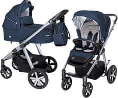 Baby Design kombinovaný kočárek Husky - Hvězda srovnání
