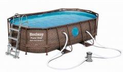 Bestway Bazén Power Steel Vista 4,27 × 2,50 × 1 m 56714 - Skvělé recenze