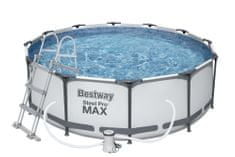 Bestway Bazén Steel Pro Max 3,66 × 1 m, sada 56418