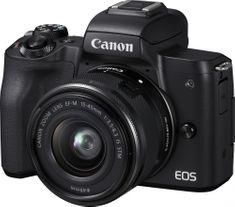 Fotoaparát Canon EOS M50 - Hvězda srovnání