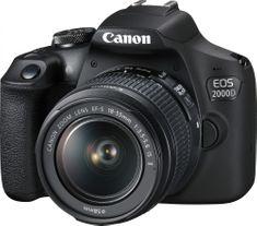 Fotoaparát Canon EOS 2000D - Hvězda srovnání