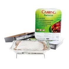 Camping Barbecue sada 3ks jednorázový gril 27 × 22 × 5 cm - Skvělé recenze