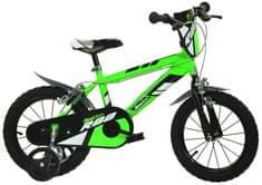 """Kolo Dino bikes 16"""" zelená - Skvělé recenze"""