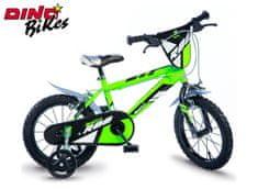 Dino bikes Dětské kolo zelené 16