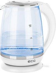 ECG rychlovarná konvice RK 2020 white Glass
