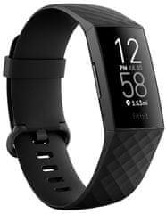 Fitbit náramek Charge 4 (NFC), Black - Perfektní hodnocení
