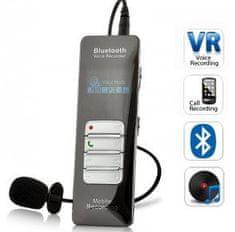 HNSAT Bluetooth diktafon 8 GB s detekcí zvuku