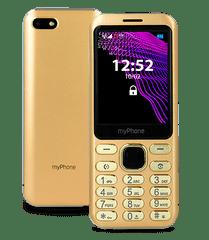 Mobilní telefon myPhone Maestro, zlatý