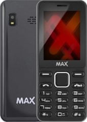 MAX Mobilní telefon GREY, Dual SIM