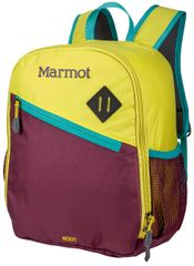 Marmot batoh Kid's Root 12L Green Spice/Deep Purple
