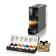 Nespresso kávovar na kapsle Krups Essenza Mini Antracitová XN110B Nejprodávanější