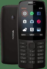 Nokia mobilní telefon 210, černá