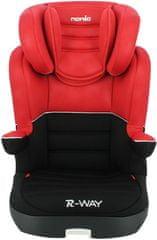 Autosedačka Nania R-WAY ISOFIX RED LUXE 2020 - zánovní