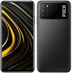 Mobilní telefon POCO M3, 4 GB/128GB, Power Black
