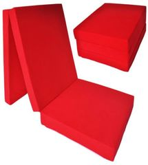 Karimatka Povlečeme vše Skládací matrace červená