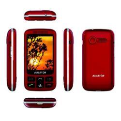 Aligator VS 900 Senior Dual SIM stříbrný/červený (AVS900RS)