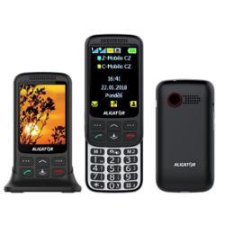 Aligator VS 900 Senior Dual SIM černý/stříbrný (AVS900BS)