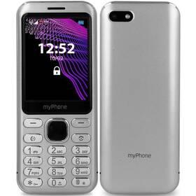 myPhone Maestro (TELMYMAESTROSI) stříbrný