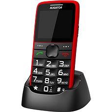 Mobilní telefon Aligator A675 Senior červená - Výborné zkušenosti