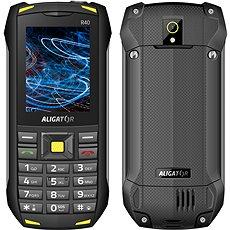 Mobilní telefon Aligator R40 eXtremo žlutý (do 9000 Kč)
