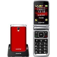 Mobilní telefon ALIGATOR V710 Senior červená (do 6000 Kč) - Perfektní hodnocení