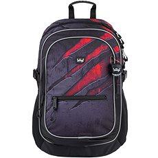 BAAGL Školní batoh Core Láva Nejprodávanější