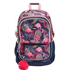 BAAGL Školní batoh Flamingo - Hvězda srovnání