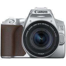 Fotoaparát Canon EOS 250D stříbrný