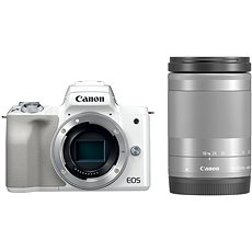 Canon EOS M50 bílý+ EF-M 18-150 mm IS STM