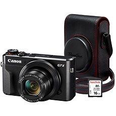 Canon fotoaparát PowerShot G7 X Mark II Premium Kit - Skvělé recenze