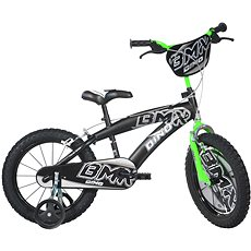 Dino Bikes 16 black/green