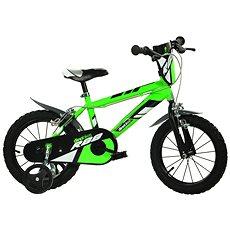 Spolehlivost 98% - Dino kolo bikes 16 green R88