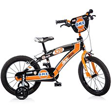 Nejspolehlivější v kategorii - Kolo Dino Bikes 16 orange/black