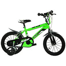 Spolehlivost 99% - Dino bikes 14 green R88