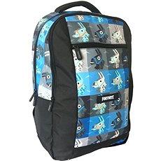 Fortnite Backpack modro-černý