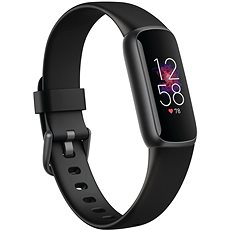 Náramek Fitbit Luxe - Black/Graphite Stainless Steel