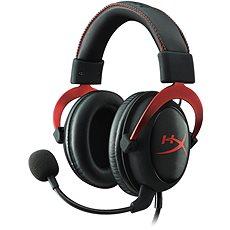 HyperX sluchátka Cloud II Headset červená