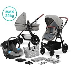 Kinderkraft 3v1 XMOOV 2020 Grey